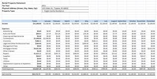 small business tax spreadsheet rental income expenses spreadsheet