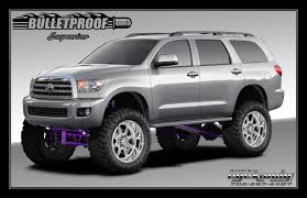 2008-2014 Toyota Sequoia 10-12 Inch Lift Kit | Bulletproof Suspension