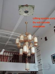 motorized chandelier lift 100kg 5m auto remote control lighting lifter chandelier hoist chandelier winch chandelier lift