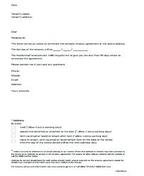 Termination Of Lease Letter From Landlord To Tenant – Kappalab