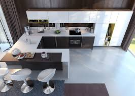 Creative Small Kitchen Creative Small Kitchen Design Ideas With Creative Rugs And White