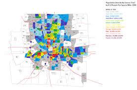 census tract and zip code maps  all columbus ohio data