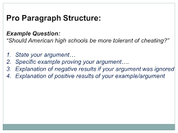 on the ldquo optional rdquo act writing section the the act essay the act pro paragraph structure example question should american high schools be more tolerant of cheating