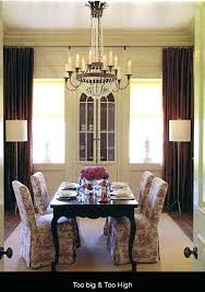 dining room chandelier height dining chandelier height living room best chandeliers ideas