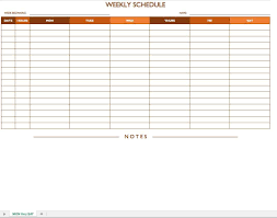 Schedule Word 033 Template Ideas Daily Schedule Word Temp