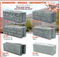 wall landscape concrete block mold