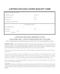 Local Purchase Order Format Sample Free Purchase Order Templates In Word Excel