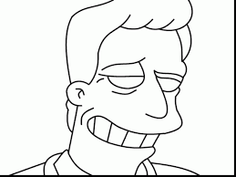 terrific homer simpson coloring pages with the simpsons coloring ...