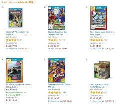 Wii U Spiele Charts
