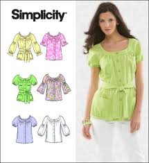 Simplicity Blouse Patterns