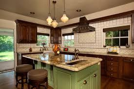 Retro Cherry Kitchen Decor Antique Cabinets Kitchen Styles White Cupboards Kitchen