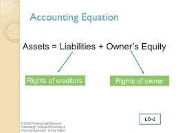 13 accounting equation assets liabilities owner s equity