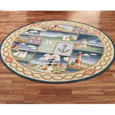 nautical area rugs lovely coastal kitchen rugs that beautify your cooking area