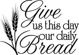 Give us this day our daily bread Muurversieringen Stickers Give Us This Day Our Daily Bread Vinyl Clipart Give Us This Day Our Daily Bread