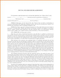Contractor Confidentiality Agreements 24 Confidentiality Agreement Vs Non Disclosure Purchase Agreement 23