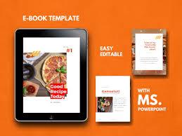 Ebook Template Recipe Ebook Template 16 Pages Ebook Template Cook Book Ppt Temp