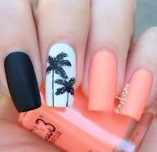 palm trees color club east austin nails aloha nail designs