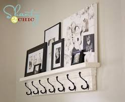 Coat Rack Shelf Diy Lindsey you should make this DIY Coat Hook Shelf Craft Ideas 25