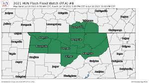 Flash Flood Watch for North Alabama Has ...