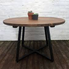 contemporary furniture reclaimed wood round table round wood kitchen table