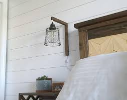 diy plug in sconces from pendant lights tutorial at mylove2create