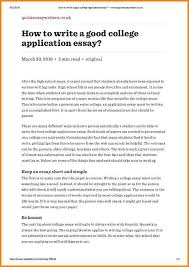 8+ college application example | quote templates