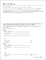 Free Forms Bill Of Sale General Bill Of Sale Form Free Download Create Edit Fill