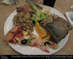 hawaiian food kalua pork lau lau at the main street station buffet as posted by justin in garden court buffet
