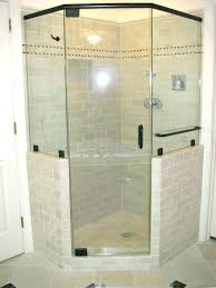 clear glass shower again id want frosting