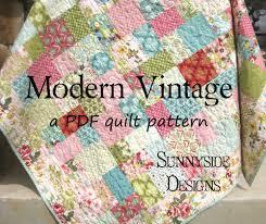 PDF Quilt Pattern Modern Vintage Layer Cake Moda | Quilts ... & PDF Quilt Pattern Modern Vintage Layer Cake Moda Adamdwight.com