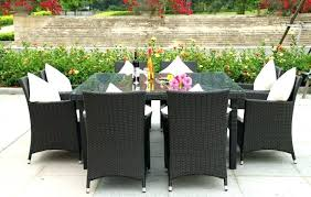 large patio set s classic accessories ravenna large round patio table and chair set cover