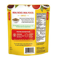 amazon tasty bite indian entree madras lentils 10 ounce pack of 6 fully cooked indian entrée with lentils red beans es in a creamy tomato