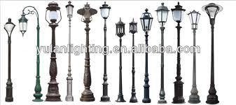 Small Picture Cast Iron Garden Light Poleled Garden Lighting Polegarden