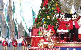 See How Disney World Decorates for the Holidays on a Behind-the ...