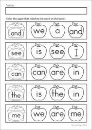 Recording sheets, Sight words and Words on Pinterest