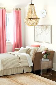 Pastel Color Bedroom Pink And Pastel Color Short Length Bedroom Curtains