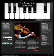 Music Newsletter Templates Cto Music 0213 Template Vn