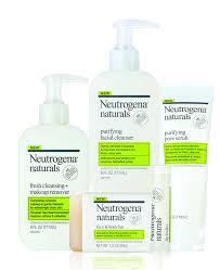 neutrogena naturals acne line