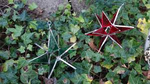 3d stained glass hanging stars