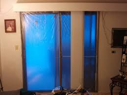winter insulated sliding glass door