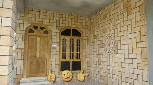 Brick Design Tiles India 9 Outstanding Indian House Exterior Wall Design Ideas Using