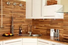 wood backsplash