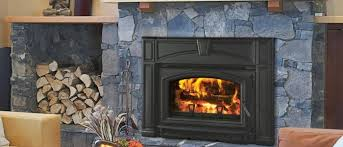 fireplace inserts seattle. quadra-fire voyageur flush cast iron wood insert fireplace inserts seattle