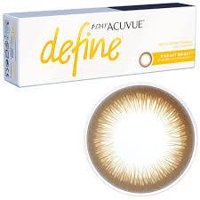 Bright Define Buy Acuvue Define Radiant Bright Brown Circle Lenses Eyecandys