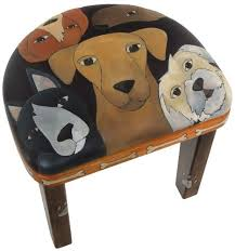 funky furniture and stuff. short dog stool funky furniture and stuff