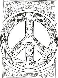 Awesome Hippie Coloring Pages Coloring Page And Coloring Book