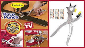 roto punch. roto punch leather hole punching tool mending solution add eyelets pliers 1pcs/lot retail packing n