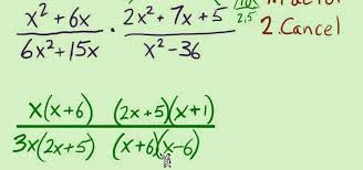 how to multiple and divide rational expressions math wonderhowto