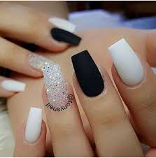 Cool Nail Designs With Black And White Awesome 30 Extraordinary Black White Nail Designs Ideas