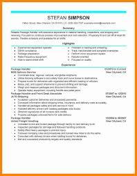 Material Handler Resume Sample - Kerrobymodels.info